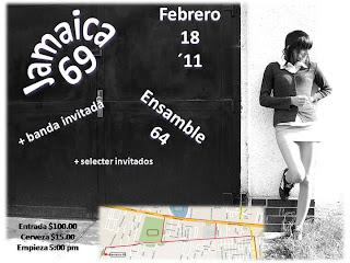 Jamaica 69 en Toluca 18 de Febrero