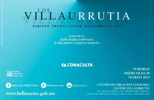 """A discusión obras ganadoras del Premio Xavier Villaurrutia con el ciclo """"Los Villaurrutia"""""""