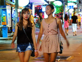 Girls at Patong