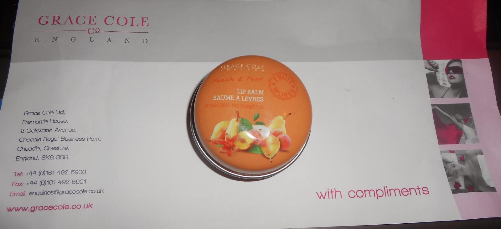 Peach_and_pear_grace_cole_lip_balm