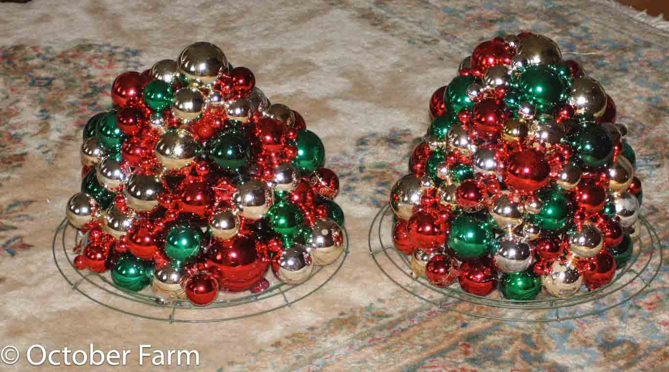 what to do with old christmas ornaments
