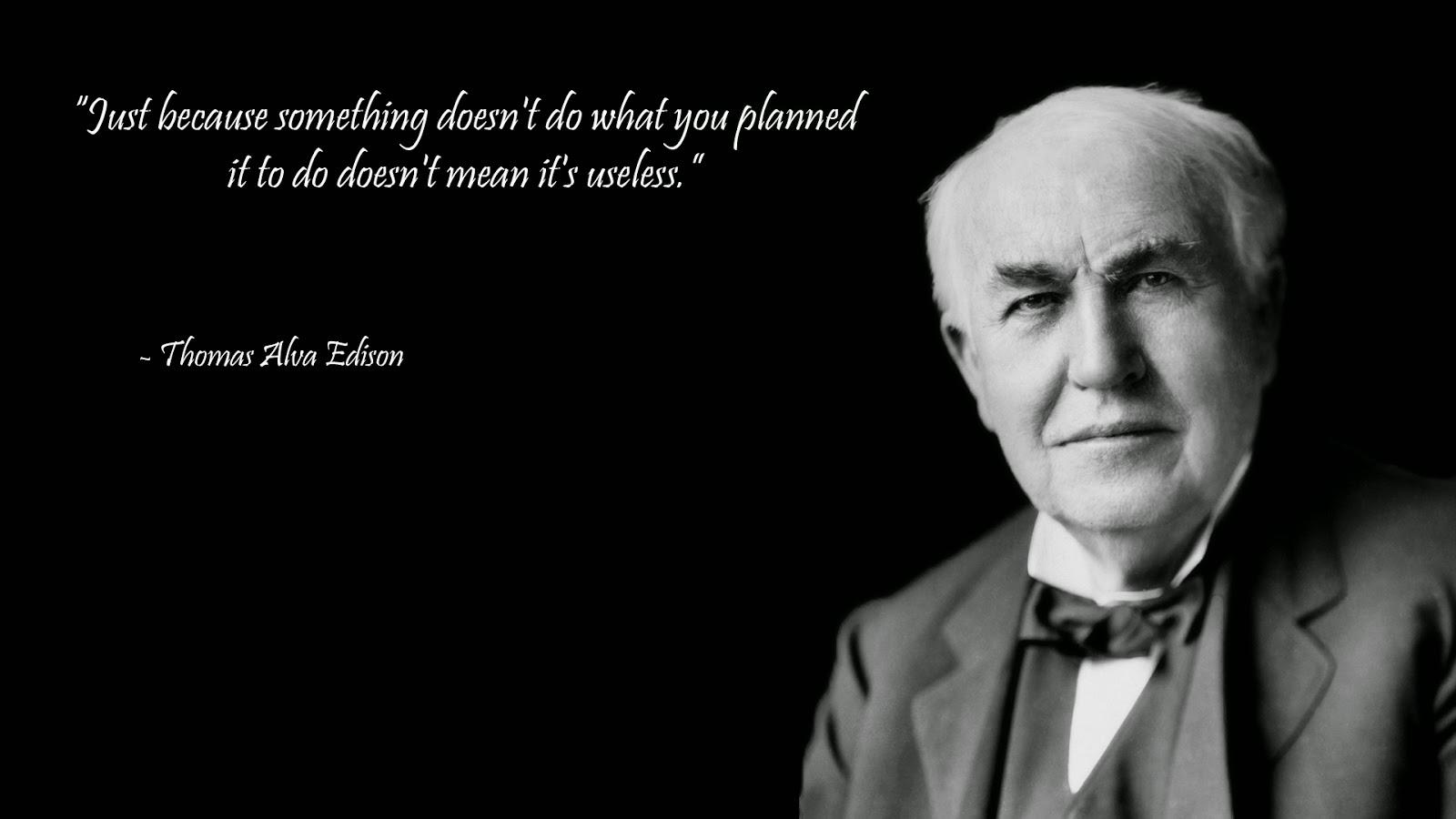 Great Scientist Thomas Edison Images
