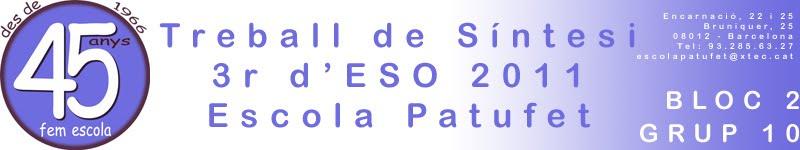 TS 3r d'ESO 1011 Bloc 2 - Grup 10
