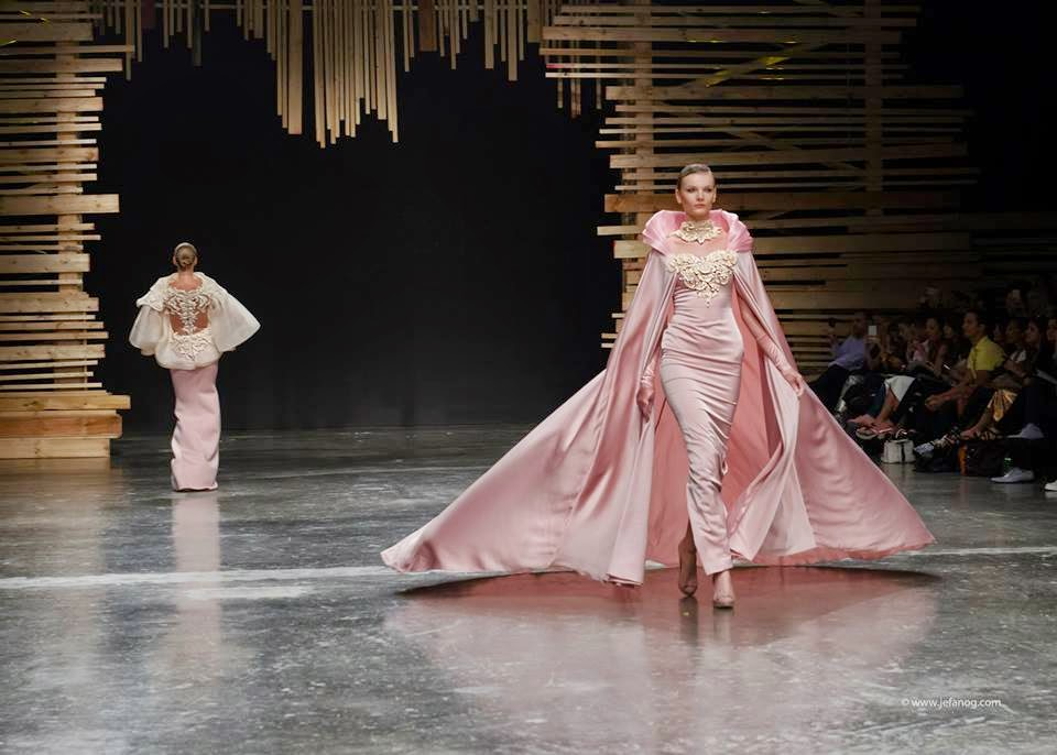 Drama and Luxury Meet in Ezra Santos 2015 Fall Evening Collection