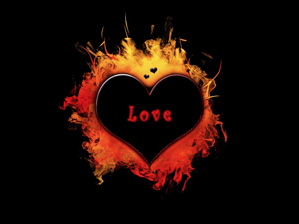 Fire love wallpapers