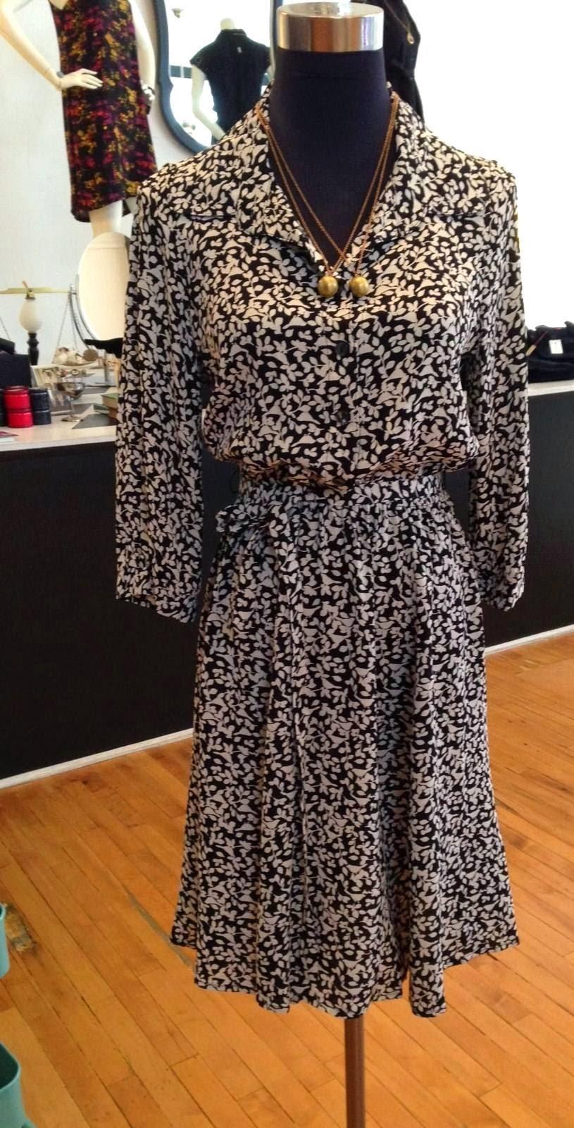 Loco Lindo Shirt Dress and Vintage Ball Lockets at Folly