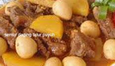 Resep masakan indonesia semur daging telur puyuh spesial praktis, mudah, enak, lezat