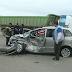 Ruta 50: Chocaron un camión y un auto con tres ocupantes