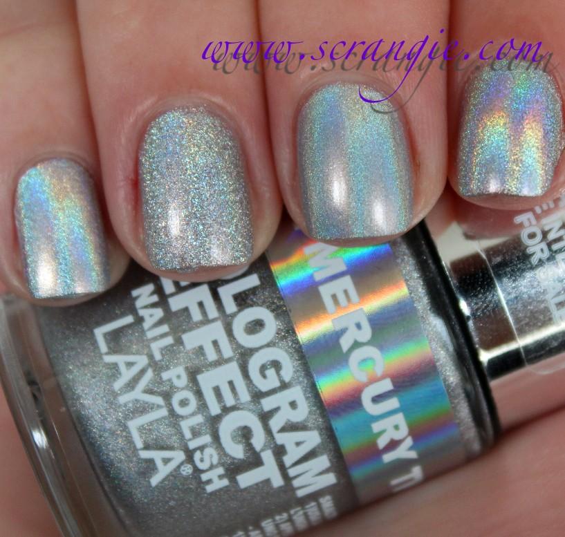 Chrome Nail Polish Holographic