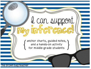 http://www.teacherspayteachers.com/Product/Inferring-Making-and-Supporting-Inferences-Hands-On-Practice-966633