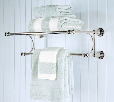 Inexpensive towel rack for small bathrooms architecture for Where to put towel bar in small bathroom