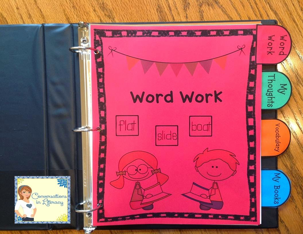 an organized way to keep student learning in a reader's notebook