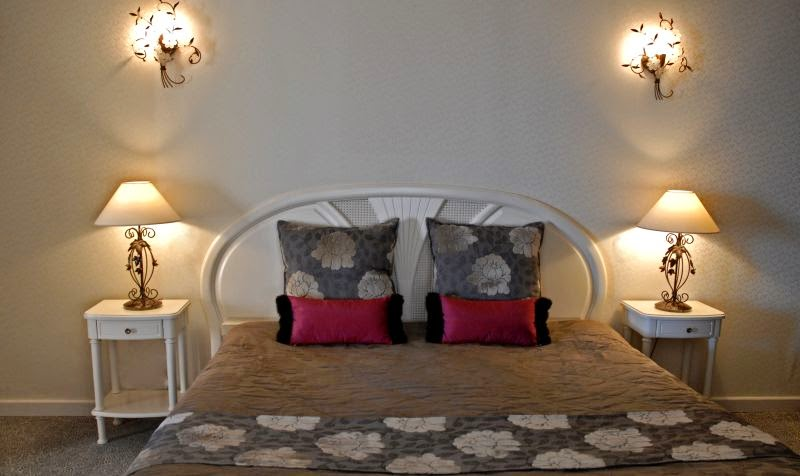 Chambre de l'hôtel Capo Rosso