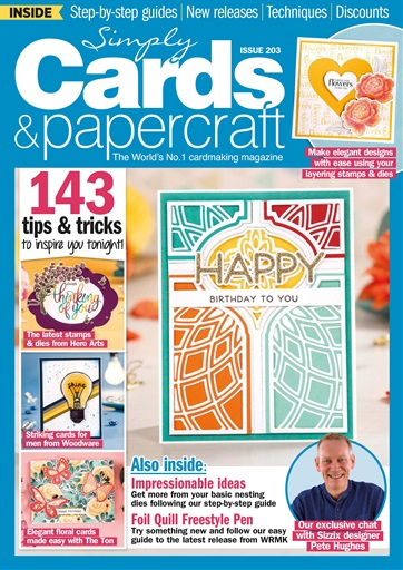 Simply Cards & Papercraft #203