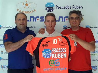 Jorge Matamoros y Burela FS