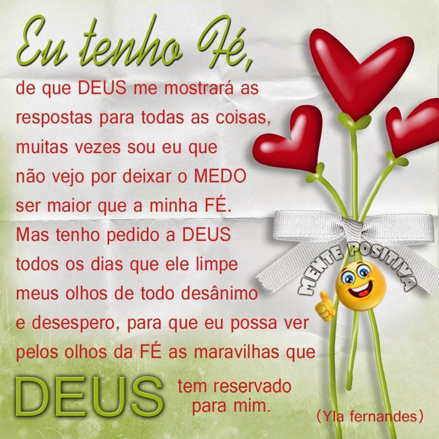 Yla Fernandes Frases De Deus Mente Positiva