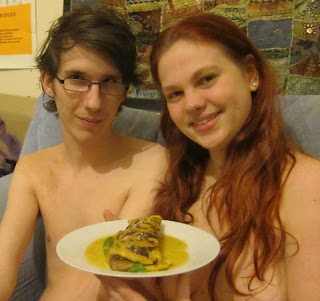 Naked Vegan Cooking hosts Jess and Greta