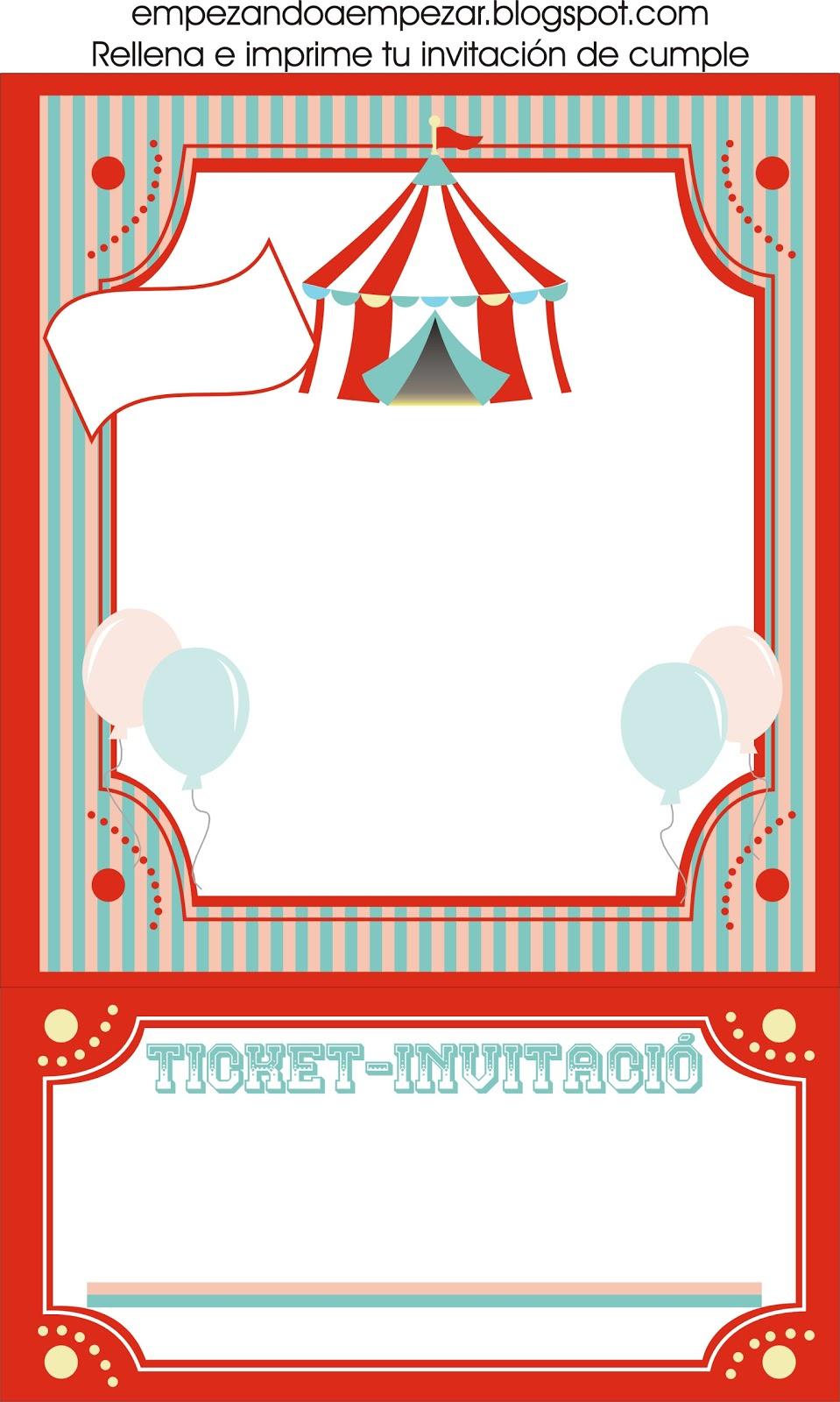 Empezando a empezar todo para tu circo fiesta de cumplea os - Todo para fiestas de cumpleanos ...