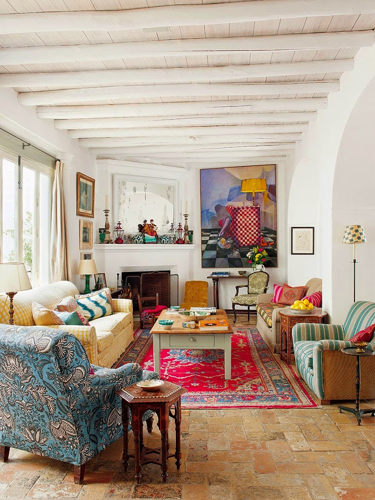 This Is A Perfect Example Of Eclectic Bohemian Styleinteriors Just