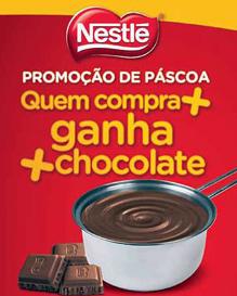 Nestlé premia clientes com sete meses de chocolate
