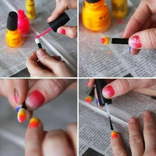 Step By Step Eye Nails Art Tutorials