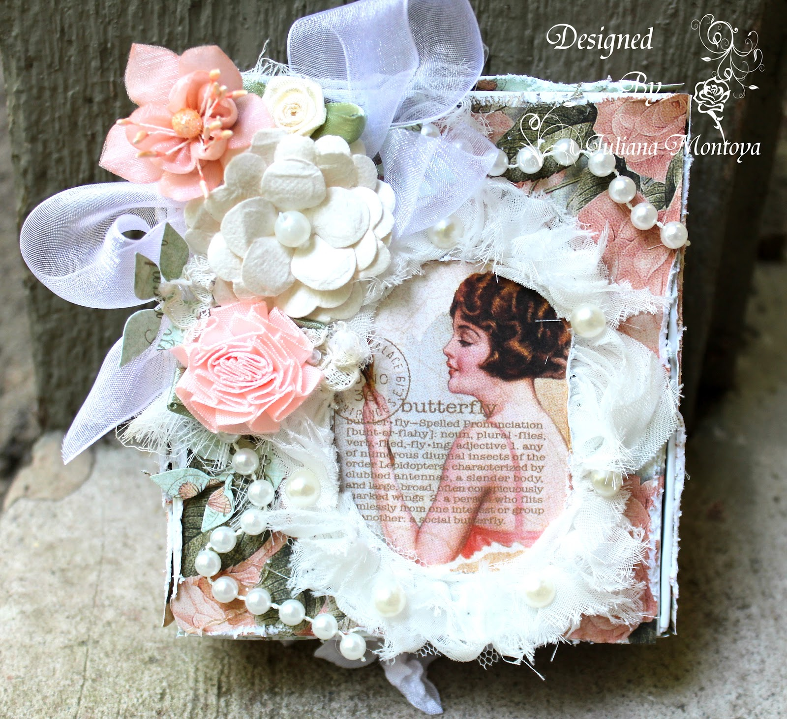Shabbychicjcouture le romantique box sign card for Shabby romantique