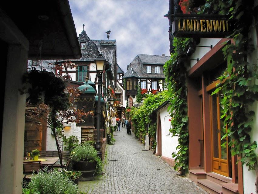 بلدة روديشييم الساحره في الريف الالماني