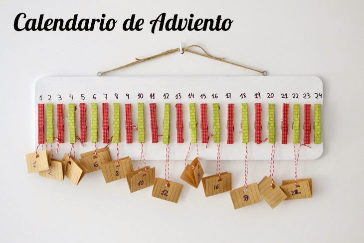 Calendario infantil aprender manualidades es for Calendario manualidades