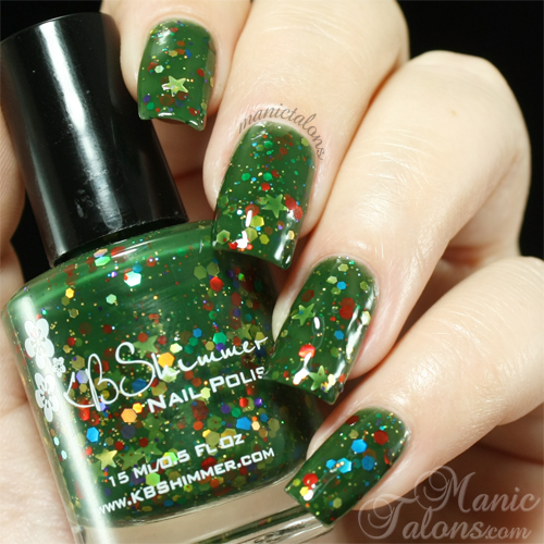 KBShimmer All Decked Out Swatch