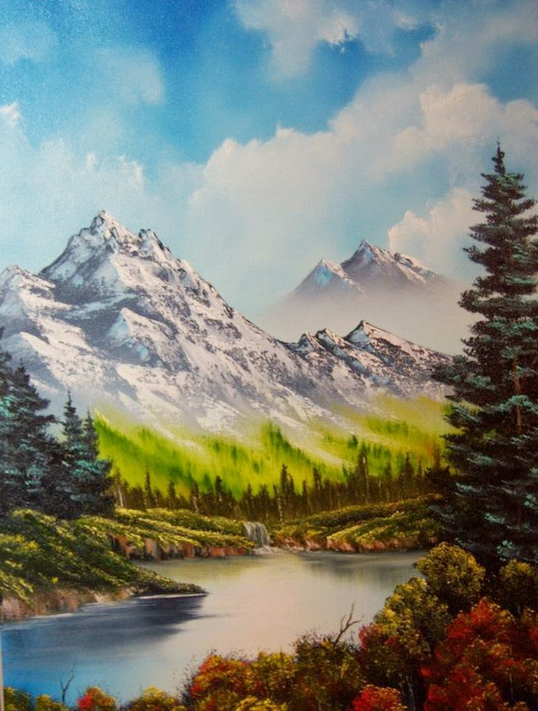 paisajes-con-montañas-cuadros-al-oleo