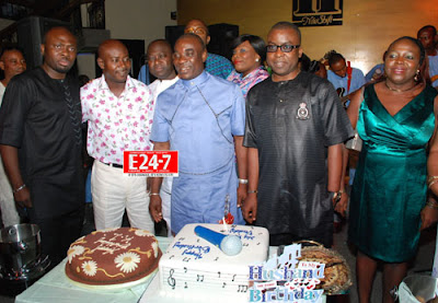 wasiu ayinde k1 56th birthday party