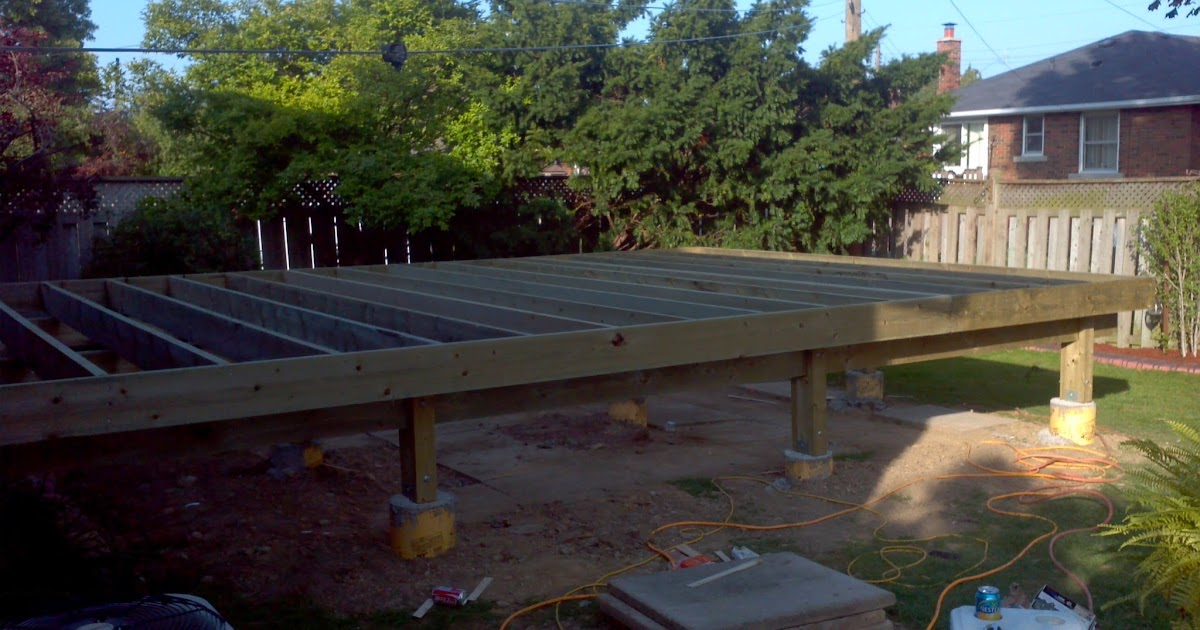A board and beyond home improvements backyard deck for 6 metre lengths of decking