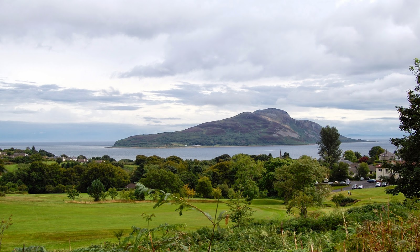 Holy Isle off the east coast of Arran