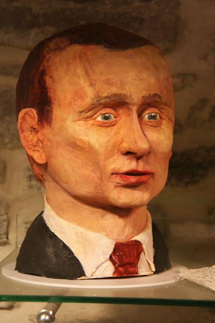 голова Путина