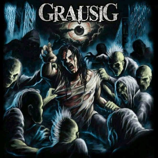 Agustus ini CD Single GRAUSIG - God's Replicated adalah yang MEMATIKAN !!