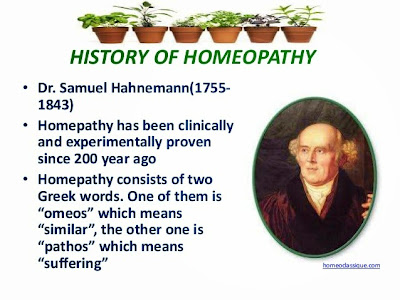 understanding samuel hahnemanns homeopathy An allopathic doctor samuel hahnemann was the founder of homoeopathy he was the first man who felt that allopathic medicines having harmful side effects.