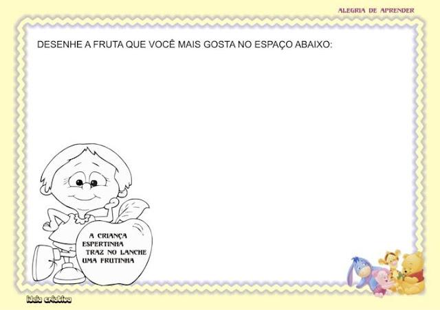Caderno de Atividade Maternal Alegria de Aprender para imprimir grátis