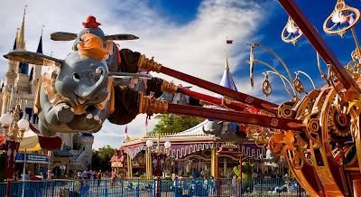 Disneyland Dumbo Ride And nemo Ride