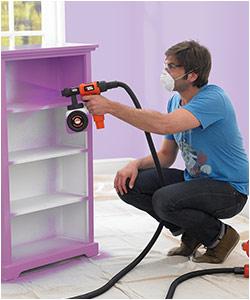 Como utilizar pistolas de pintar ekkon expertos blog - Pistola de pintura sin compresor ...
