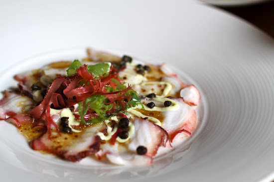 Momiji Tako Carpaccio