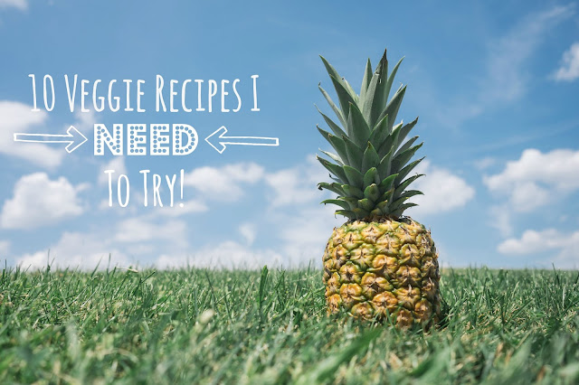 My General LIfe | 10 Veggie Recipes I Need To Try - Pinterest, vegetarian, vegan