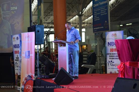 Menteri Pelancongan Malaysia Pelancaran Pakej Rail Tourism VMY2014