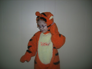 Tigger costume from Goodwill
