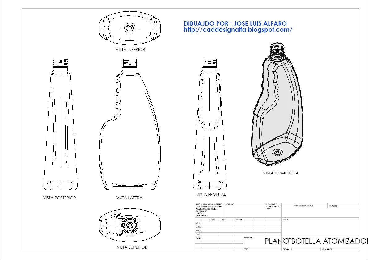 cad design alfa planos