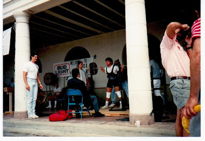 squatting at the 1989 USPF East Beach Open