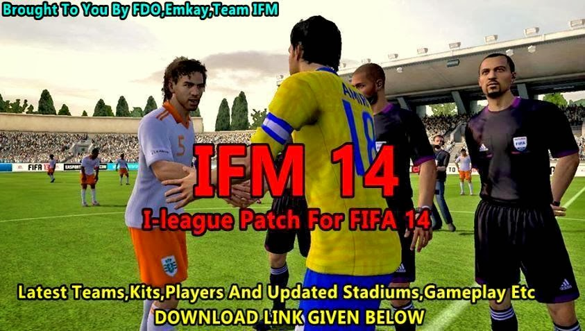 Indian football league patch for fifa 11 free