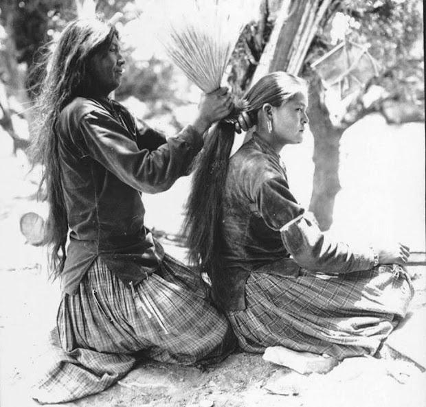 white wolf navajo hair matters