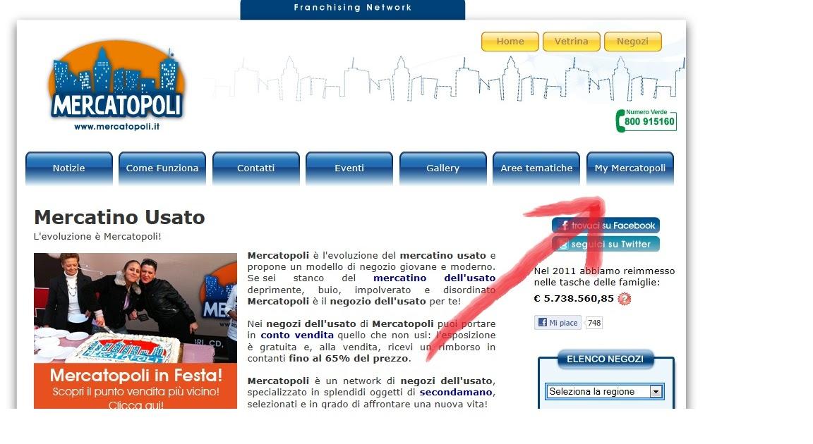 Guida registrazione card mercatopoli for Registrazione preliminare di vendita