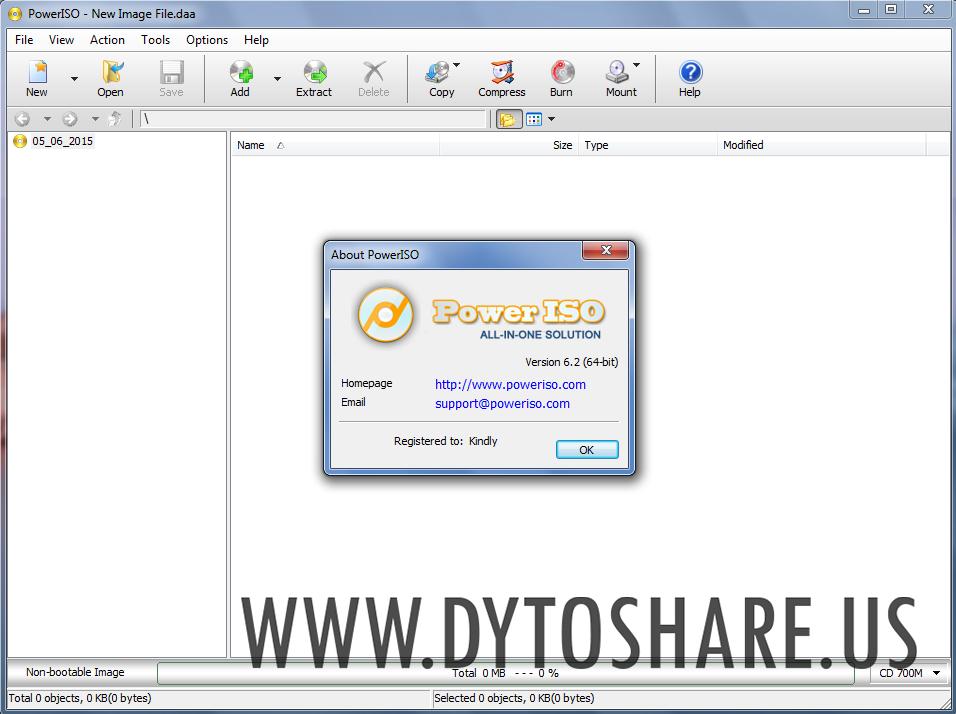 Poweriso virtual drive download
