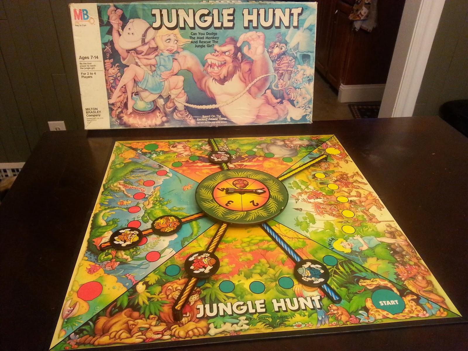 Jungle hunt arcade